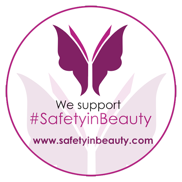 Safety In Beauty Badge